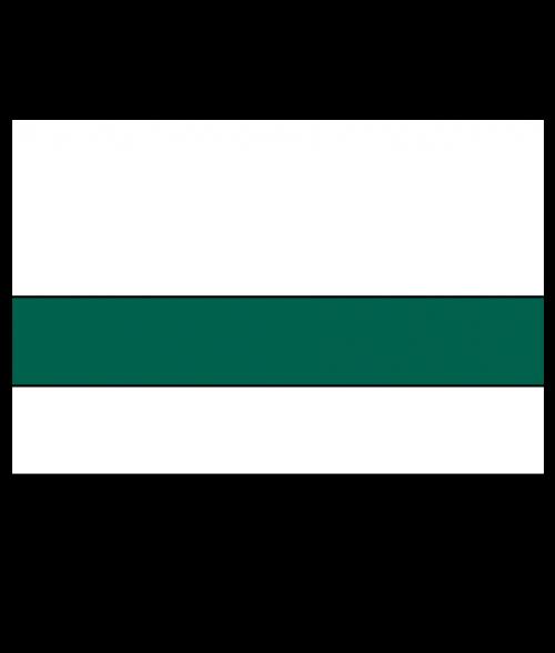 "Rowmark Satins White/Pine Green 1/16"" Engraving Plastic"