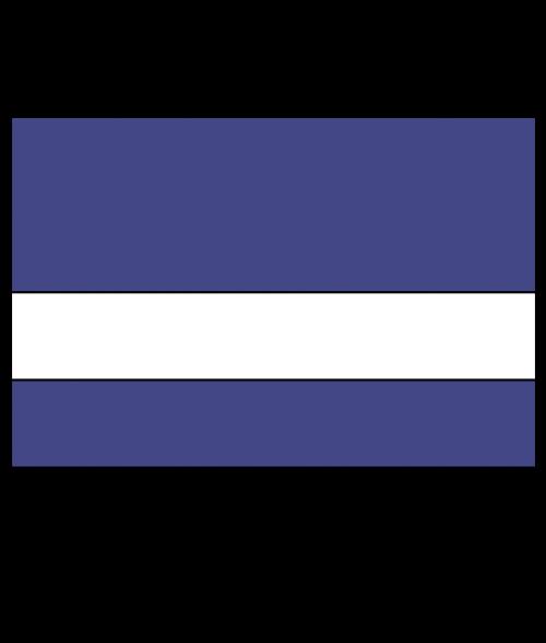 "Rowmark Satins Purple/White 1/16"" Engraving Plastic"
