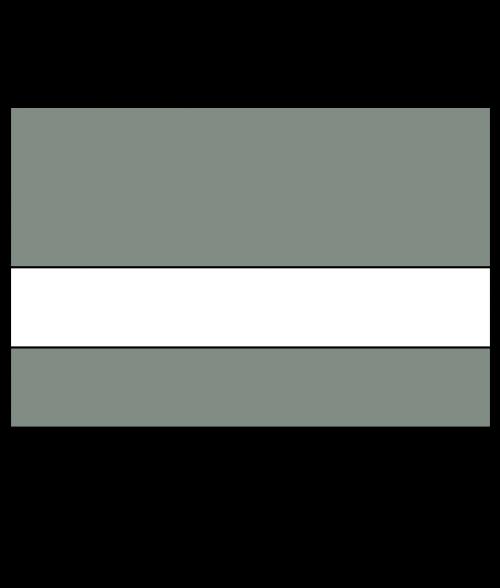 "Rowmark Satins Metallic Grey/White 3/32"" Engraving Plastic"