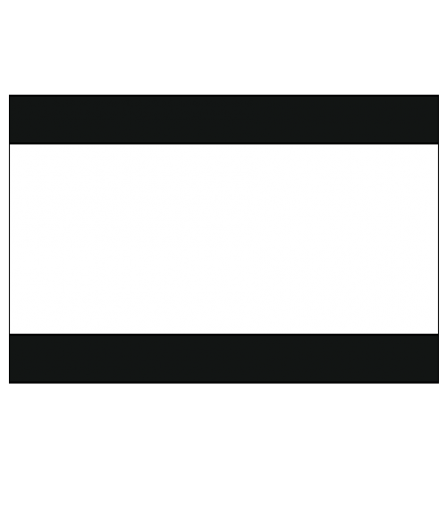 "Rowmark Satins Black/White/Black 1/8"" Engraving Plastic"