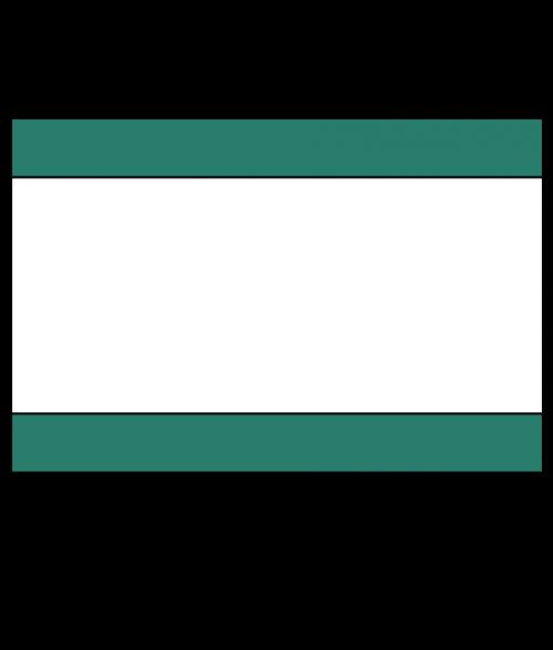 "Rowmark Satins Green/White/Green 1/8"" Engraving Plastic"