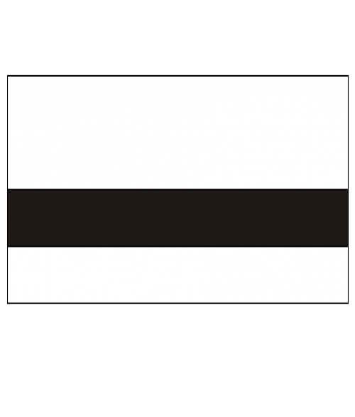 "Rowmark Mattes White/Black 1/32"" Engraving Plastic"