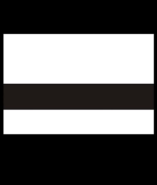 "Rowmark Value Mattes White/Black 1/16"" Engraving Plastic"