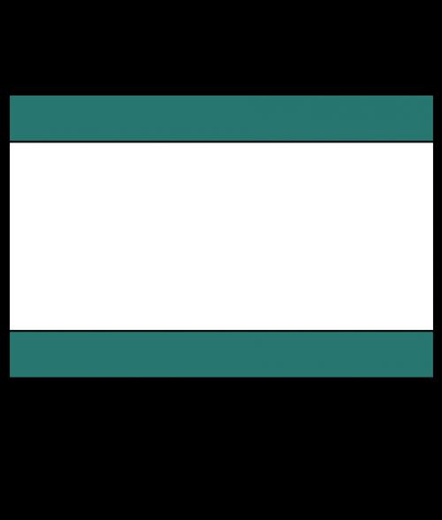"Rowmark Mattes Pine Green/White/Pine Green 1/8"" Engraving Plastic"