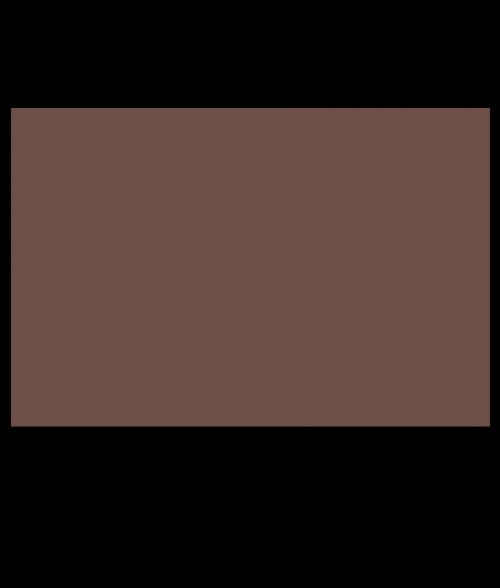 "Rowmark ADA Alternative Medium Brown 1/32"" Engraving Plastic"