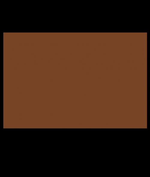 "Rowmark ADA Alternative Copper 1/32"" Engraving Plastic"