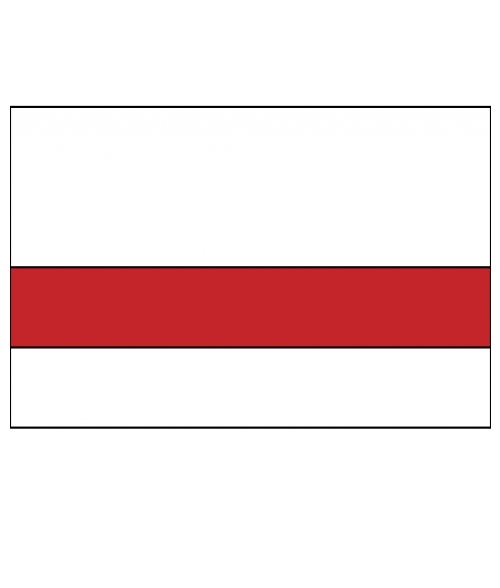 "Rowmark Ultra-Mattes White/Red 1/16"" Engraving Plastic"