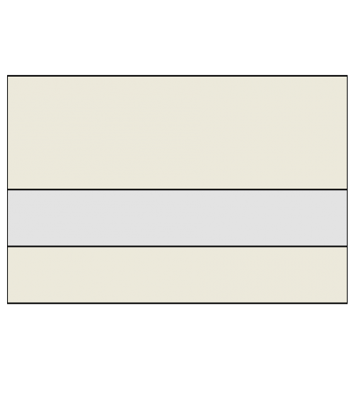 "Rowmark Ultra-Matte Reverse Clear/Sandalwood 1/16"" Engraving Plastic"