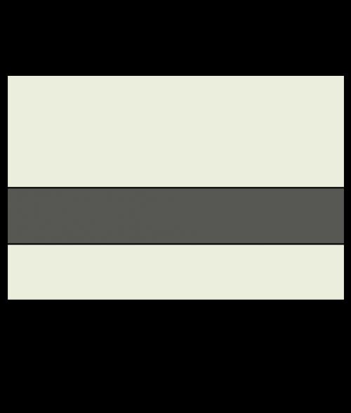 "Rowmark Ultra-Mattes Ash/Cinder 1/16"" Engraving Plastic"