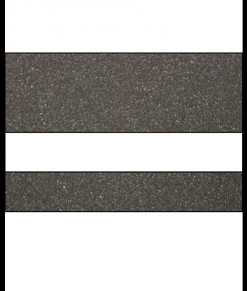 "Rowmark Ultra-Mattes Graphite/White 1/16"" Engraving Plastic"
