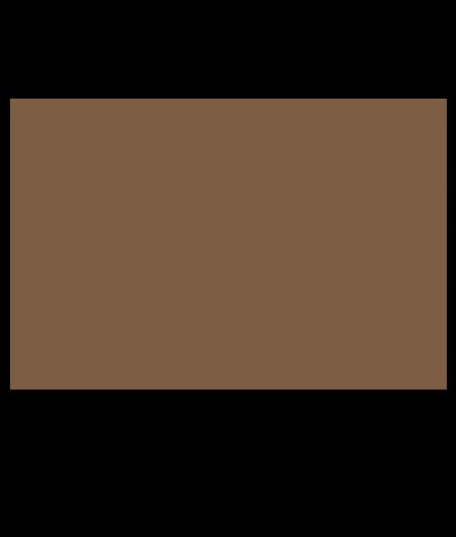 "Rowmark ADA Alternative Deep Bronze 1/8"" Engraving Plastic"