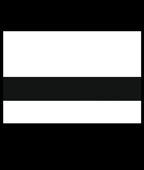 "Rowmark Ultra-Mattes White/Black 1/8"" Engraving Plastic"