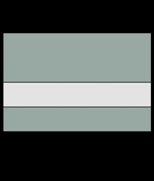 "Rowmark Ultra-Matte Reverse Clear/Sea Grey 1/8"" Engraving Plastic"