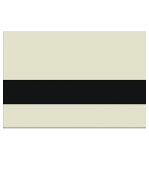 "Rowmark Ultra-Mattes Parchment/Black 1/8"" Engraving Plastic"