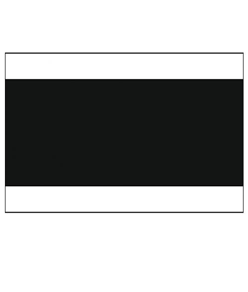 "Rowmark Ultra-Mattes White/Black/White 1/8"" Engraving Plastic"
