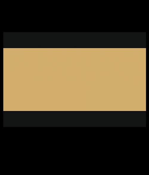 "Rowmark Ultra-Mattes Black/Gold/Black 1/8"" Engraving Plastic"