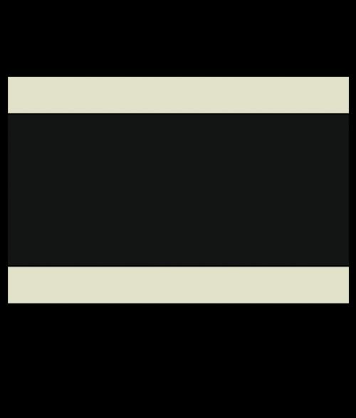 """Rowmark Ultra-Mattes Parchment/Black/Parchment 1/8"""" Engraving Plastic"""
