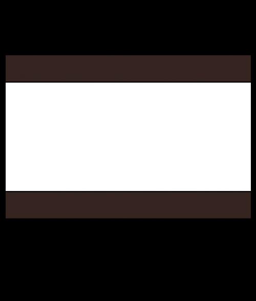 "Rowmark Lacquers Dark Brown/White/Dark Brown 1/8"" Engraving Plastic"