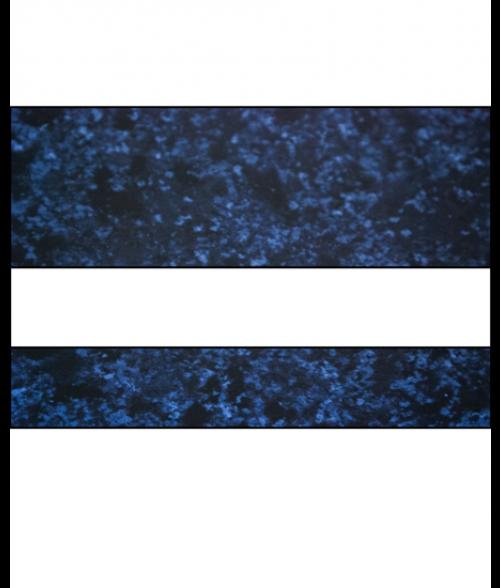 """Rowmark FlexiColor Celestial Blue/White .020"""" Engraving Plastic"""