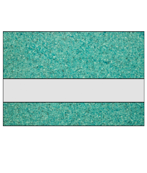 "Rowmark Granites Deluxe Gloss Clear/Jade 1/8"" Reverse Engraving Plastic"