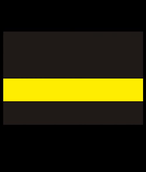 "Rowmark LaserMark Matte Black/Yellow .052"" Engraving Plastic"
