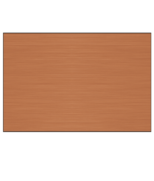 Satin Copper .025 Lacquered Aluminum Sheet