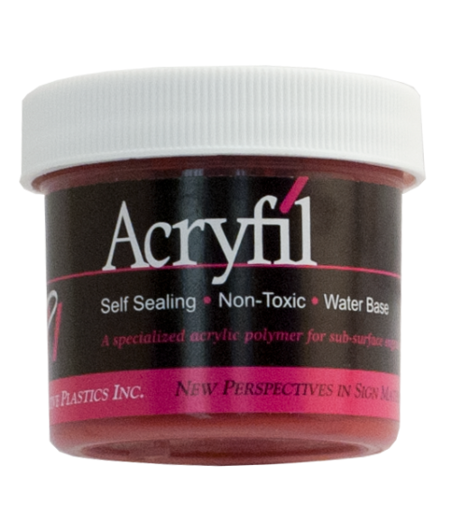 IPI Acryfil Red 2oz Acrylic Paint