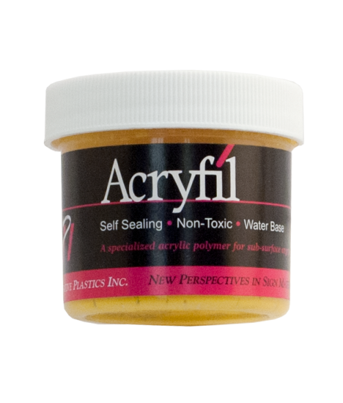 IPI Acryfil Yellow 2oz Acrylic Paint