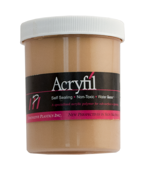 IPI Acryfil Gold 8oz Acrylic Paint