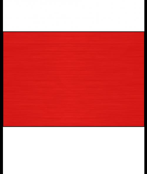 "AlumaMark Satin Red .020"" Aluminum Sheet"