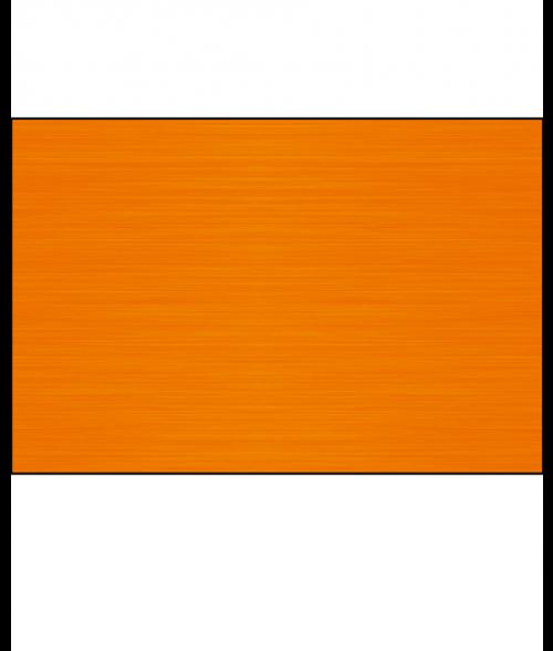 """AlumaMark Satin Orange .020"""" Aluminum Sheet"""