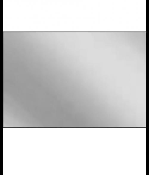 "AlumaMark Mirror Silver .020"" Aluminum Sheet"