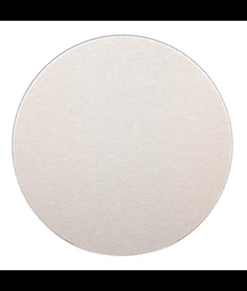 "AlumaMark Satin Silver .020 2"" Circle"