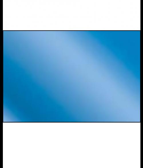 Gloss Blue .016 Laserable Brass Sheet