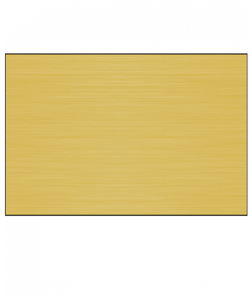 Satin Yellow Leaded Long Grain .020 Brass Sheet