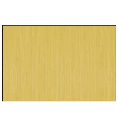 Satin Yellow Leaded Short Grain .020 Brass Sheet