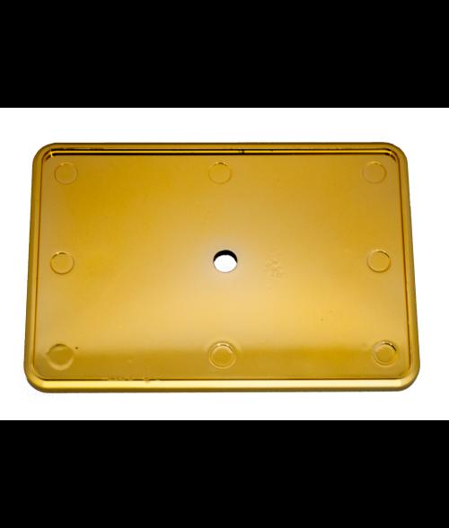 "Gold 2"" x 3"" Badge Holder"