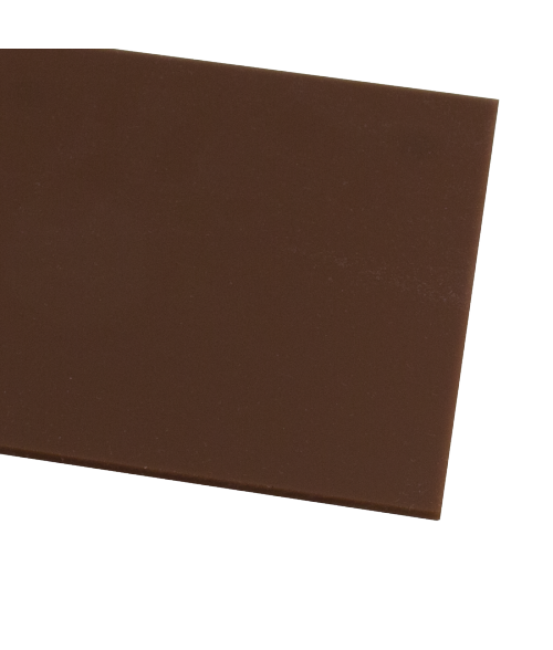 "Rowmark ColorHues Cocoa 1/8"" Engraving Plastic"