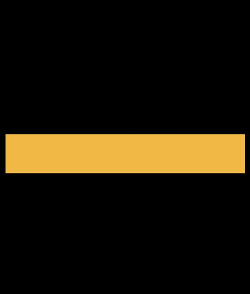 "Rowmark Color Hues EFX Black/Daffodil 1/8"" Engraving Plastic"