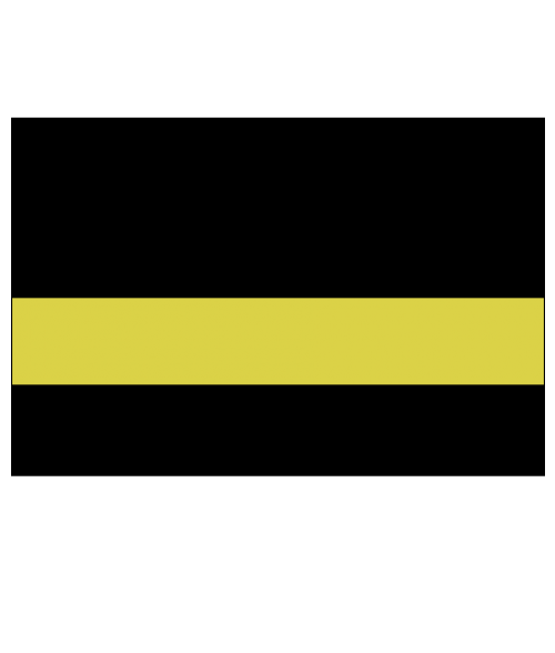 "Rowmark Color Hues EFX Black/Citron 1/8"" Engraving Plastic"