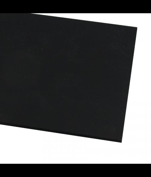 """Rowmark ColorHues Black 1/4"""" Engraving Plastic"""
