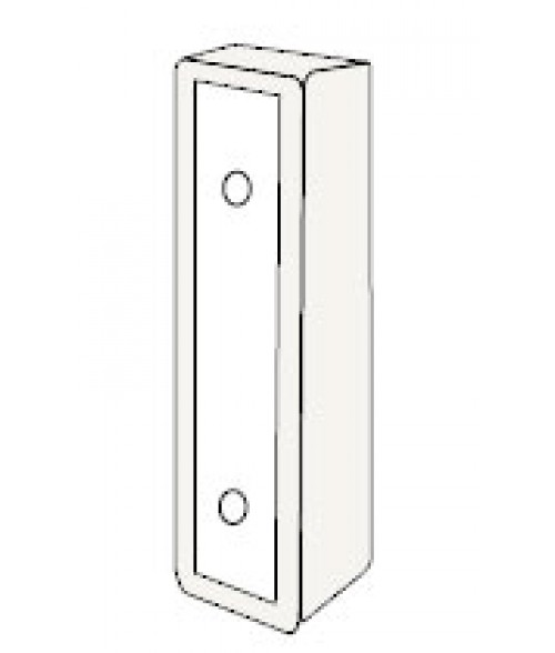 "Rowmark Portico Linen White 3"" Wall Mount for Portico Poly Frames"