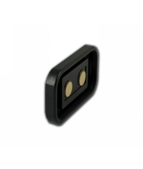 "Rowmark Portico Black Sapphire 2"" x 4"" Round Poly Wall Frame"