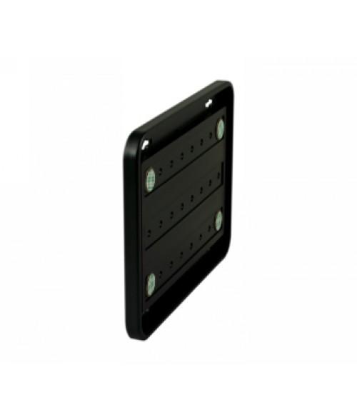 "Rowmark Portico Black Sapphire 6"" x 8"" Round Poly Wall Frame"