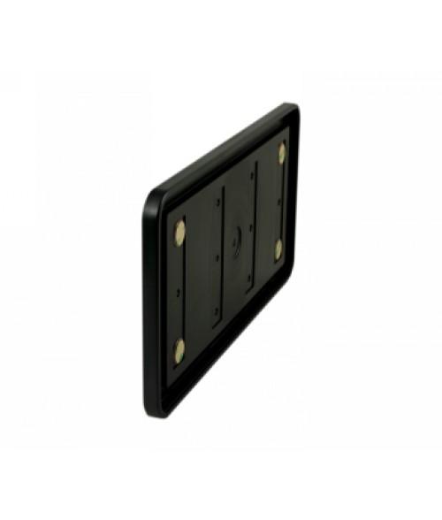 "Rowmark Portico Black Sapphire 6"" x 12"" Round Poly Wall Frame"