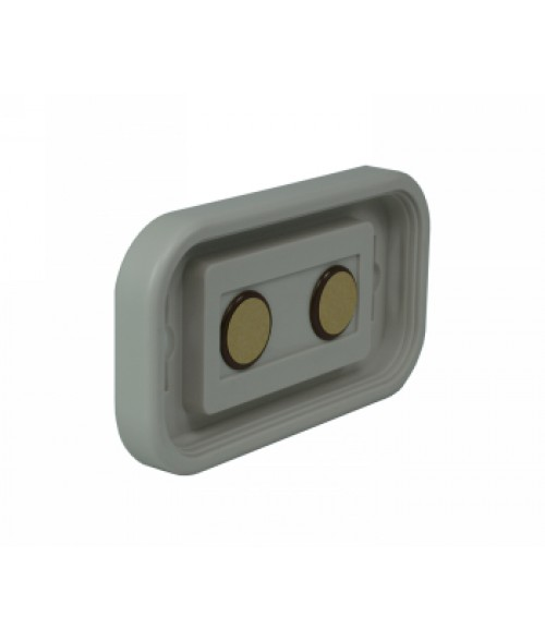 "Rowmark Portico Slate Grey 2"" x 4"" Round Poly Wall Frame"