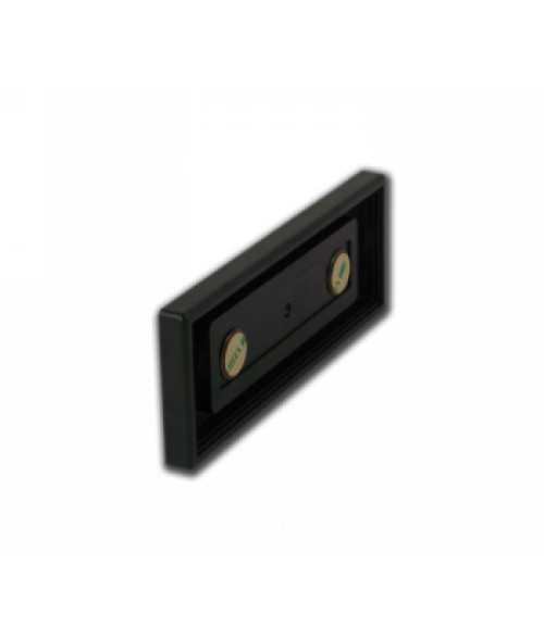 "Rowmark Portico Black Sapphire 2"" x 6"" Square Poly Wall Frame"