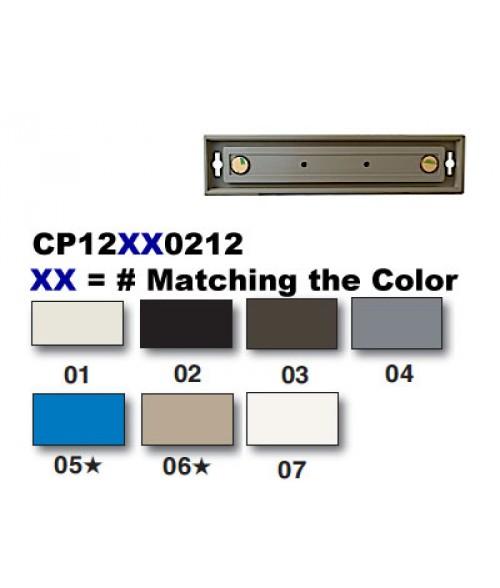 "Rowmark Portico Black Sapphire 2"" x 12"" Square Poly Wall Frame"
