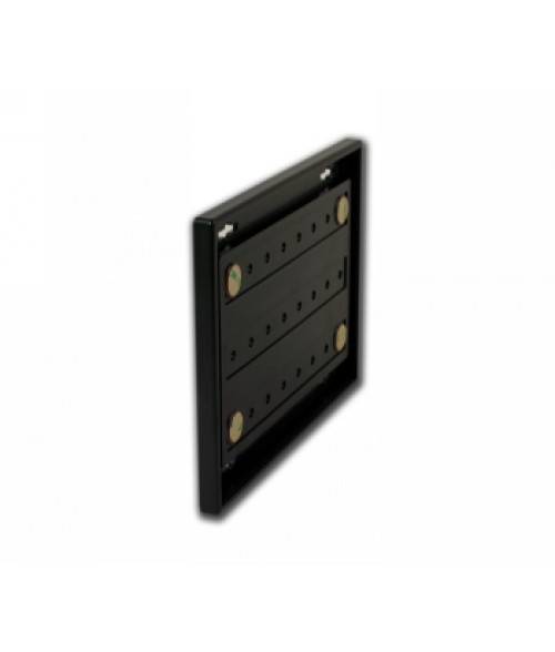 "Rowmark Portico Black Sapphire 6"" x 8"" Square Poly Wall Frame"