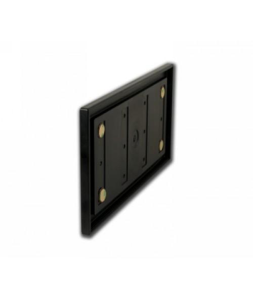 "Rowmark Portico Black Sapphire 6"" x 12"" Square Poly Wall Frame"